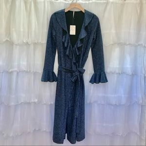 Nordstrom Free People Midi Wrap Dress Size Small